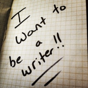 Be a writer